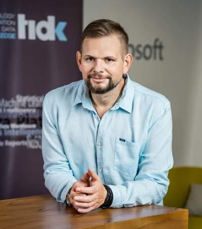 Łukasz Grala (prezes TIDK, Microsoft MVP w kategorii AI)