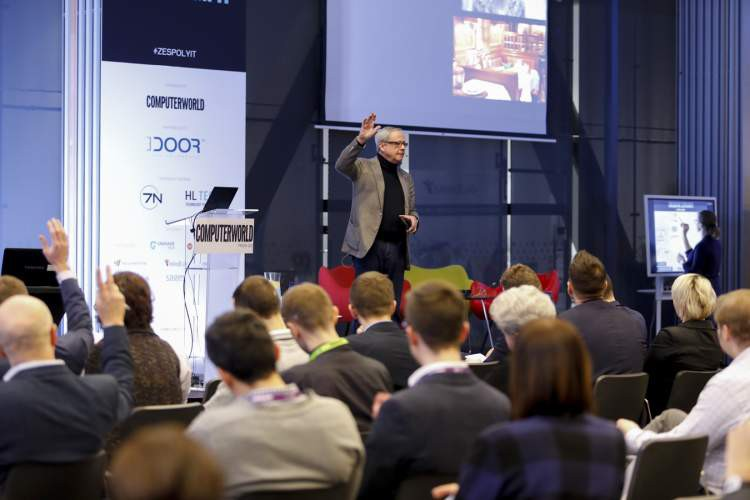 """David Allen na konferencji """"Zarządzanie zespołami IT"""""""