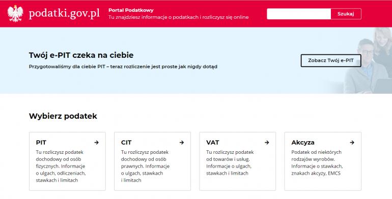 Portal Twój e-PIT
