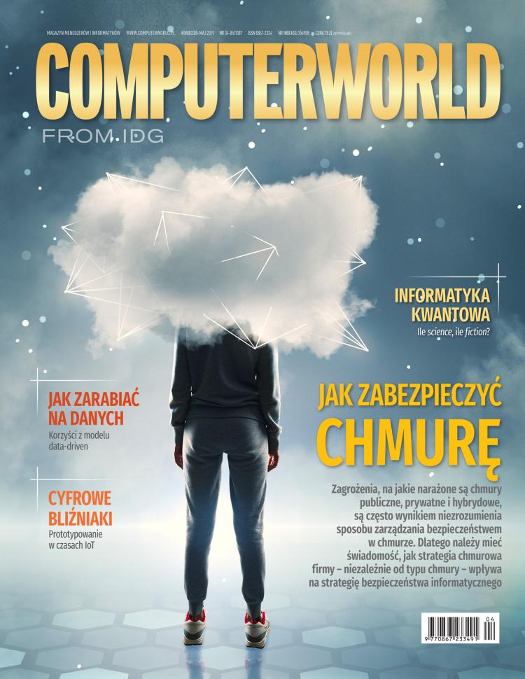 Computerworld 4/5 2019 - jak zabezpieczyć chmurę