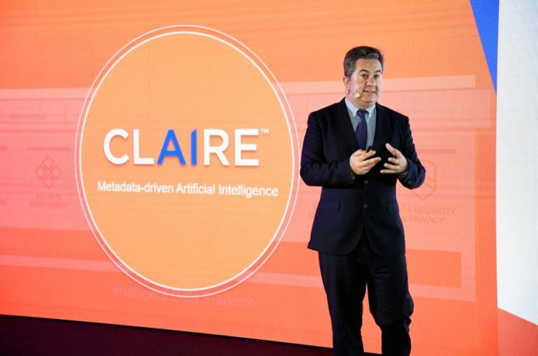 O sztucznej inteligencji i platformie Informatica Claire mówi Emilio Valdes, wice-prezes firmy Informatica. Źródło: Integral Solutions.