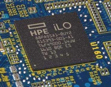 Układy iLO do kontroli stanu systemu komputerowego są instalowane we wszystkich serwerach oferowanych przez HPE. Źródło: HPE.