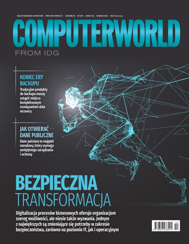 Computerworld 10/2019 w sprzedaży. Różne strony transformacji