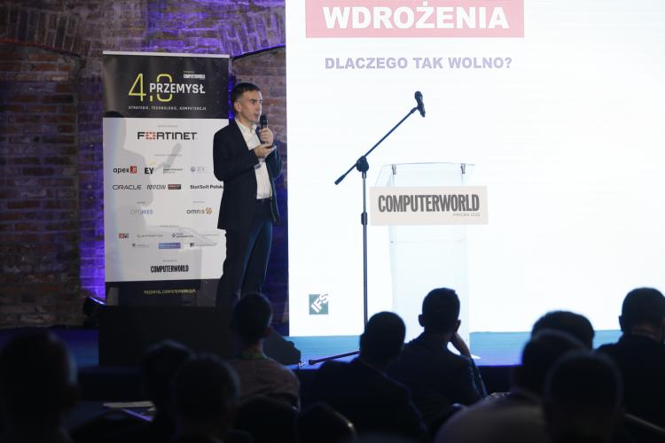 """Konferencja """"Computerworld Przemysł 4.0"""". Andrzej Wąs, Principal Business Architect, IFS Poland"""