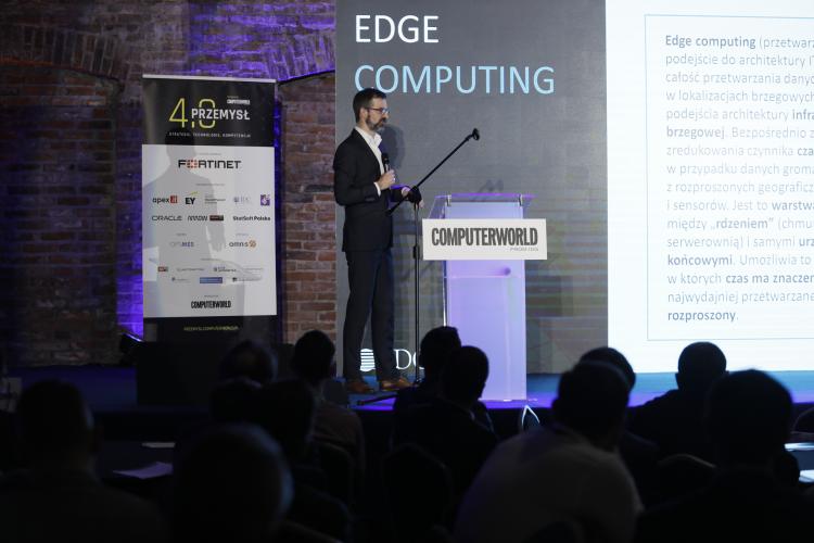 """Konferencja """"Computerworld Przemysł 4.0"""". Jarosław Smulski, IDC"""