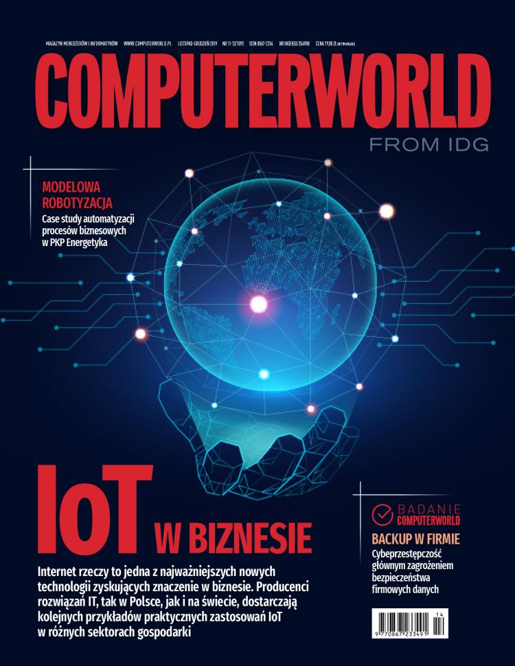 Computerworld 11-12/2019. IoT, robotyzacja i ochrona danych