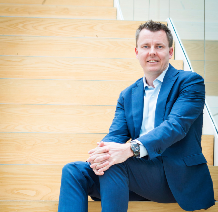 Morten Gade Christensen, CIO w Bankdata, CIO OF THE YEAR EUROPE 2019 (kategoria małe i średnie firmy); FOTO: Computerworld DK