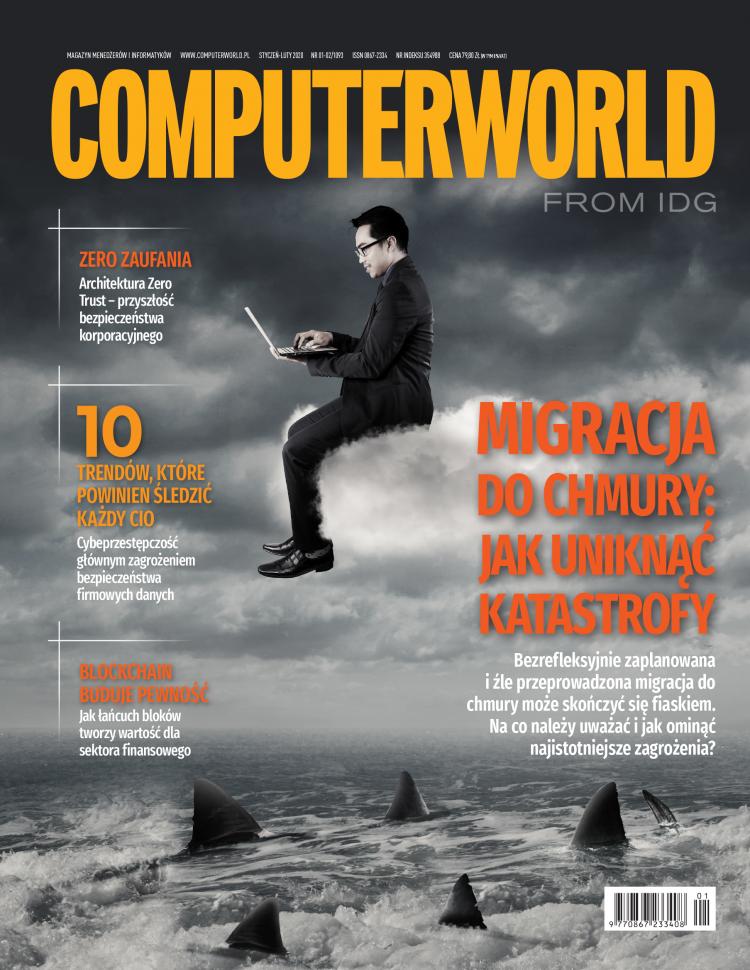 Computerworld 1-2/2020 w sprzedaży. Chmura, bezpieczeństwo i porady dla CIO