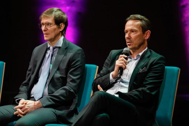 Od lewej: Paweł Wojciechowski, Business Development Manager, Fortinet oraz Dariusz Piotrowski, VP, General Manager, Dell Technologies Polska