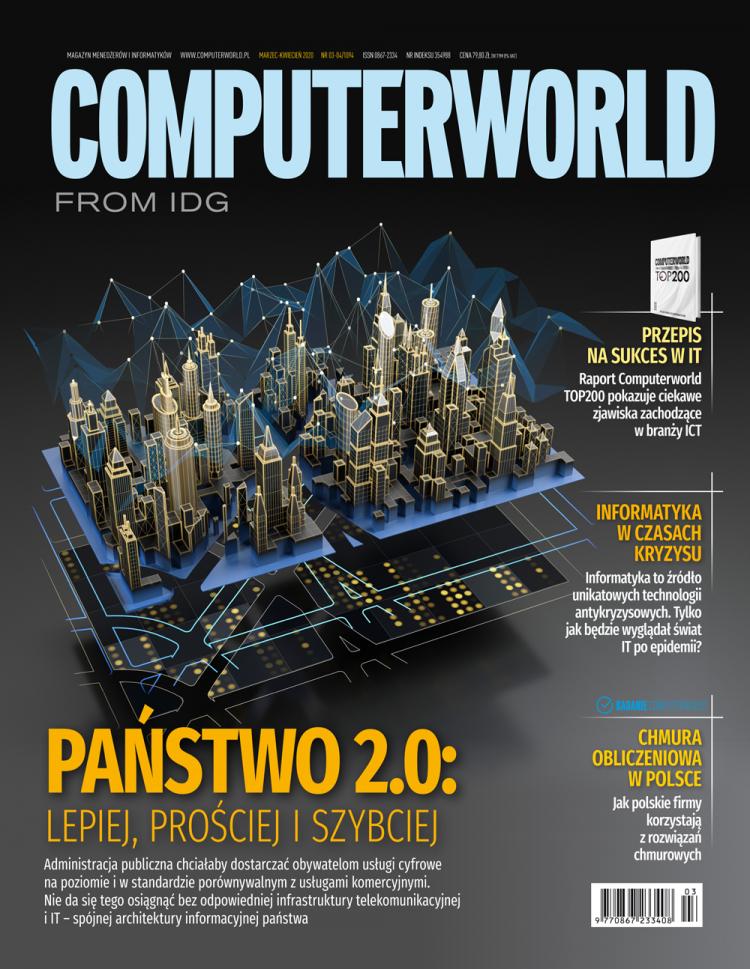 Computerworld 3-4/2020. Badania redakcyjne i informatyka po koronawirusie