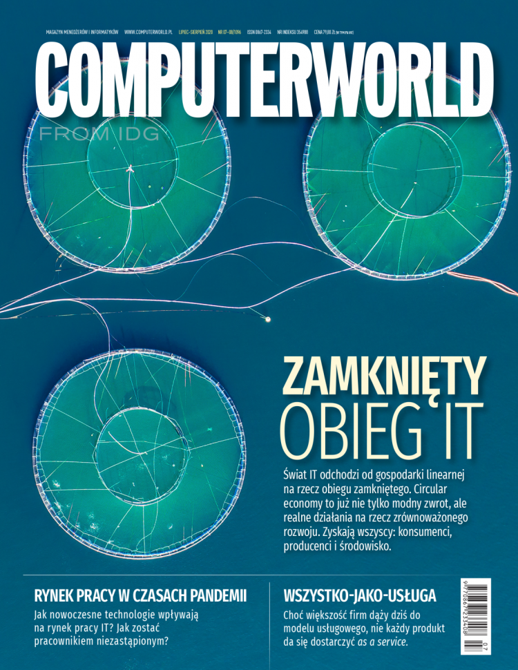 Computerworld 7-8/2020. Informatyczny obieg zamknięty