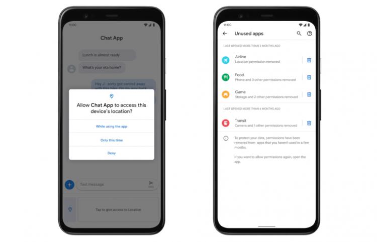 Android 11 - 5 rozwiązań lepiej chroniących prywatność i bezpieczeństwo