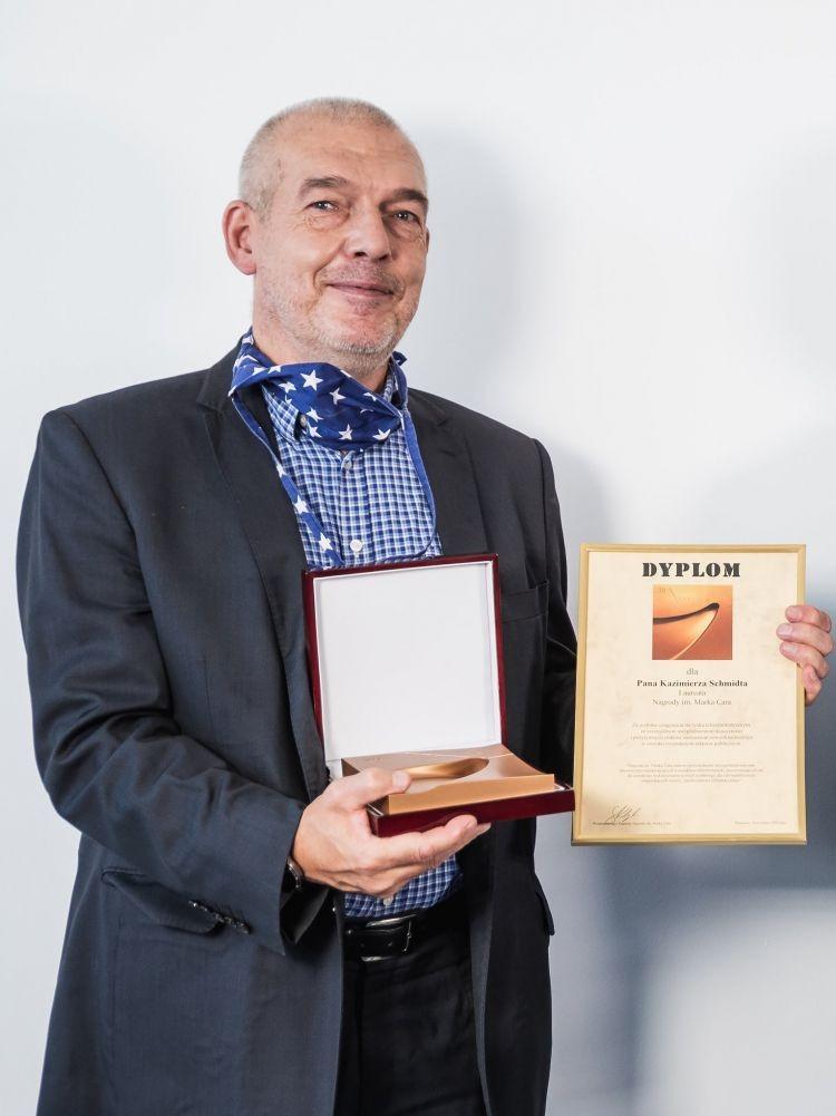 Dominik Batorski i Kazimierz Schmidt z nagrodą im. Marka Cara